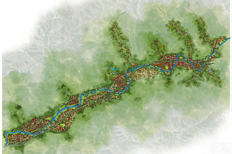 yan'an master plan | gch - seattle landscape architecture
